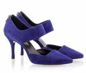 ble suede goves