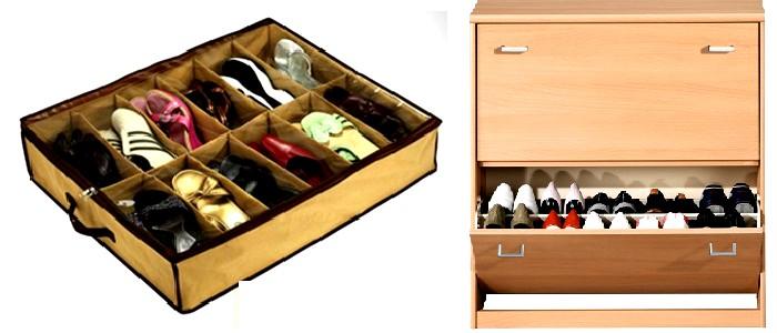 Εικόνα Οι καλύτερες προτάσεις για να οργανώσετε τα παπούτσια σας!