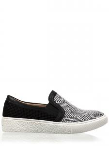 Ασπρόμαυρα Γυναικεία Sneakers