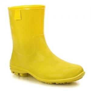 Γαλότσες Μονόχρωμες Κίτρινο