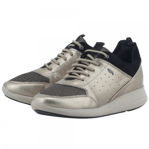 d419702cc7d Geox Geox D621Cb Σαμπανι | Γυναικεία Casual παπούτσια | AllShoes.gr