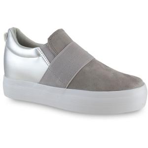 Γκρι Σουεντ Sneakers 85-168