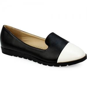 Γυναικεία Loafers Δίχρωμα
