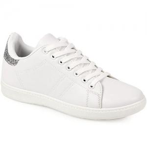 Γυναικεία Sneakers Ασημί