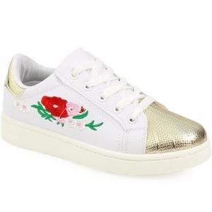 Γυναικεία Sneakers Με Λουλούδια