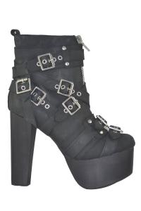 Γυναικεια Μποτακια Jeffrey Campbell - Lita Buckle Boots