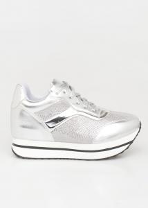Jennifer Sneaker, Ασημί -