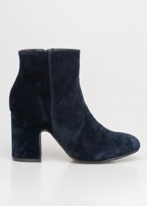 Kimmie Velvet Boot, Μπλε