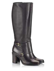 Le Pepé Black Textured Leather