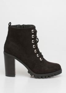 Liv Block Heel Boot, Μαύρο