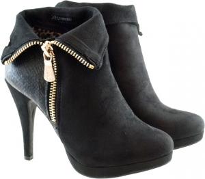 Μαύρο Ankle Boot Xti 28450