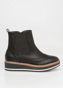 Miley Oxford Boot, Μαύρο