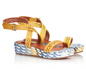 Missoni Yellow Crossover Laser-Cut
