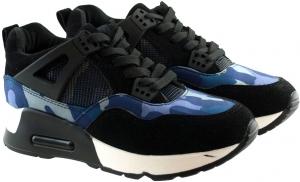 Μπλέ Παραλαγή Sneakers Bl190