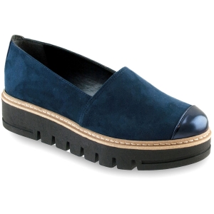 Μπλε Σουέντ Slip On Izy R010