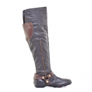 Μπότες Dkny Active-Δέρμα Τελατίνι