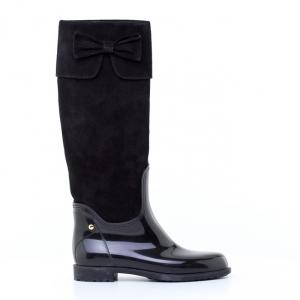 Μπότες Feng Shoe-Pvc Και Δέρμα