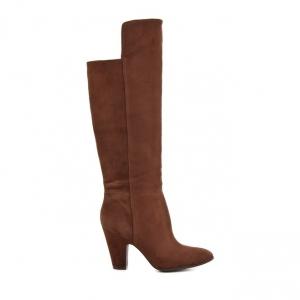 Μπότες Nine West-Δέρμα Καστόρι