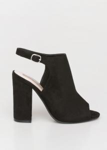Nale Block Heel Suede Sandal