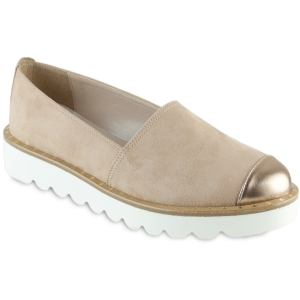 Nude Σουέντ Slip On Beatrice