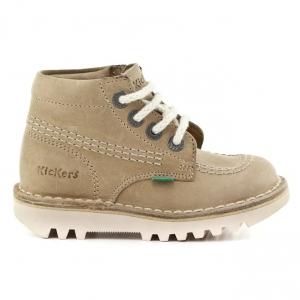 Παιδικά Παπούτσια Kickers-Δέρμα Καστόρι