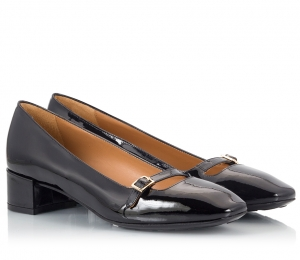 Parlanti Black Patent Leather
