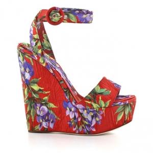 Πέδιλα Dolce & Gabbana-Ύφασμα