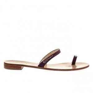 Πέδιλα Feng Shoe-Ύφασμα Σατέν