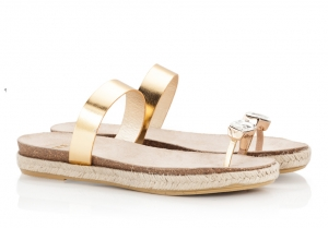 Ras Bejeweled Toe-Ring Gold