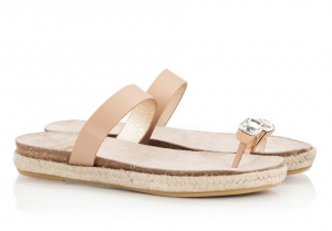 Ras Bejeweled Toe-Ring Nude