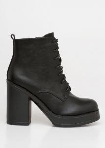 Regan Block Heel Boot, Μαύρο