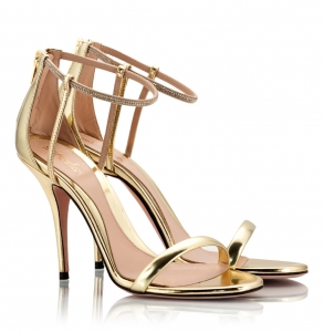 Sebastian Gold Leather High