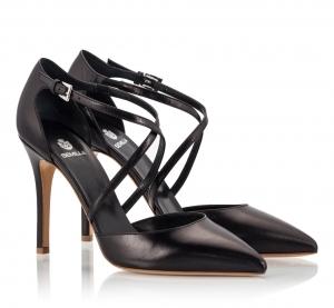 Semilla Black Nappa Leather