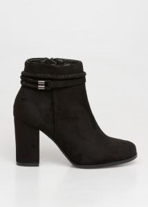 Sugar Strassed Boot, Μαύρο