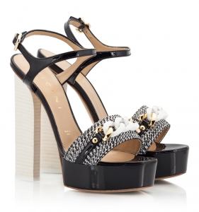 Vicini Black And White Patent