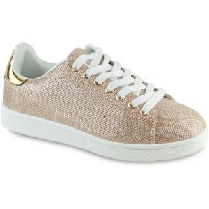 Χρυσά Sneakers Β2588-5