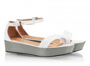 Zamagni White Soft Nappa Leather