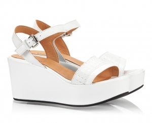 Zamagni White Vitello Leather